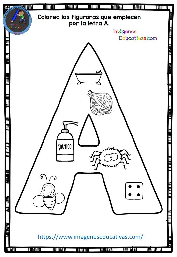 Completo cuaderno de repaso de la letra A 40 actividades