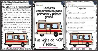 Lecturas comprensivas para primaria y primer grado mes de ABRIL ...