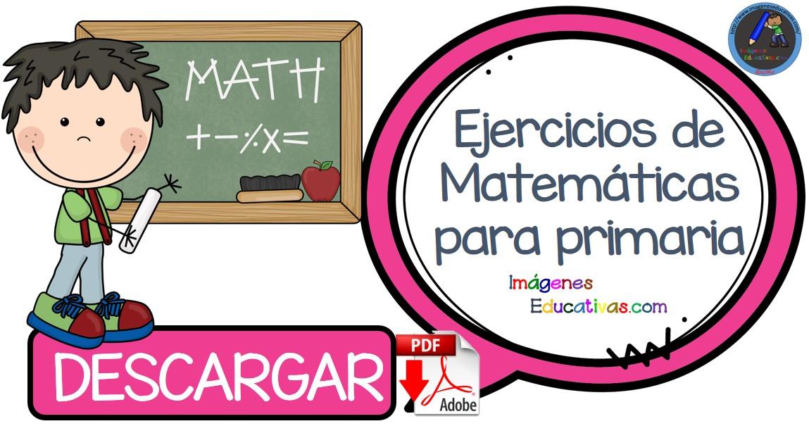 CUADERNO DE EJERCICIOS MATEMATICAS PORTADA - Imagenes