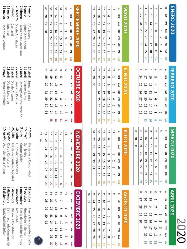 Calendario Escolar 2020 18 Aragon.Nueva Y Exclusiva Agenda Escolar 2019 2020 Totalmente Original Y