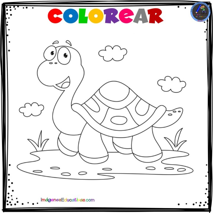 Mi Cuaderno Para Colorear Animales Imagenes Educativas