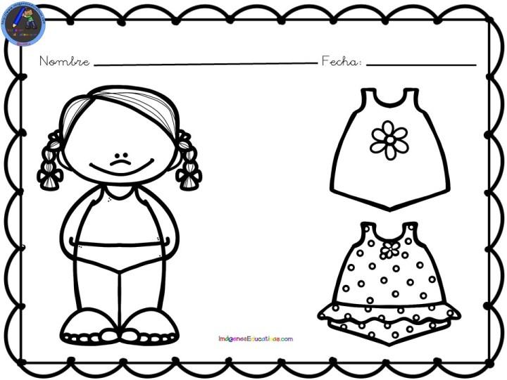 Fichas Para Colorear Motivos De Verano Imagenes Educativas