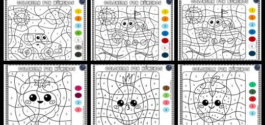 Colorear Por Numeros Imagenes Educativas