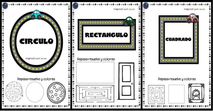 Cuaderno Figuras Geometricas Para Ninos Imagenes Educativas