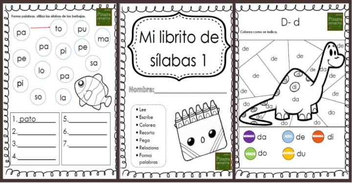 Mi Librito De Silabas Imagenes Educativas