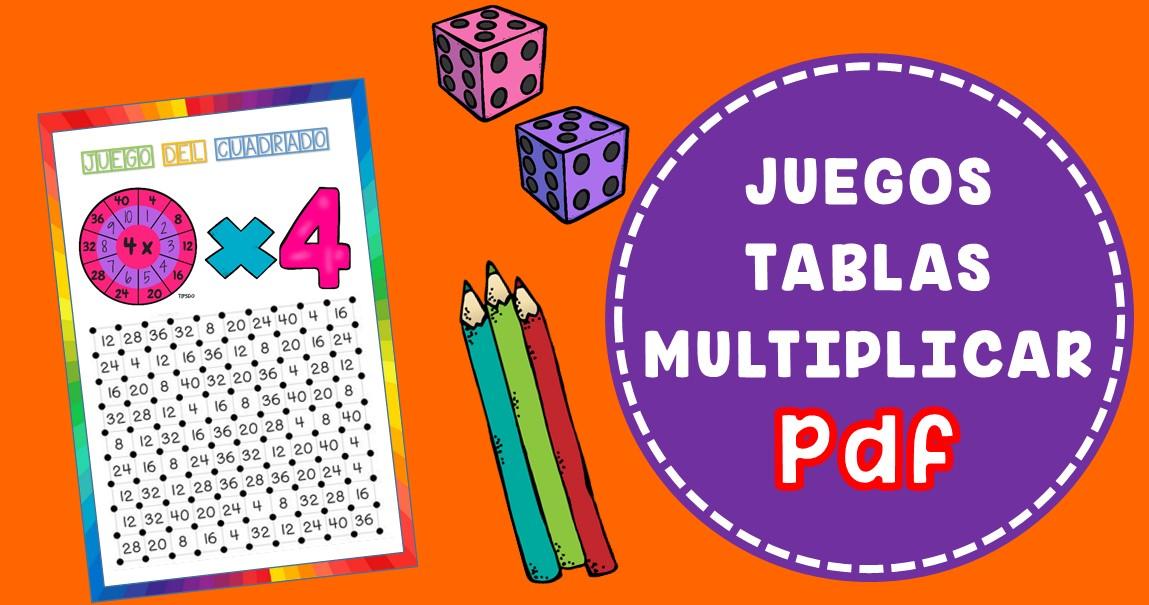 Juegos Para Aprender Las Tablas De Multiplicar Pdf Imagenes Educativas