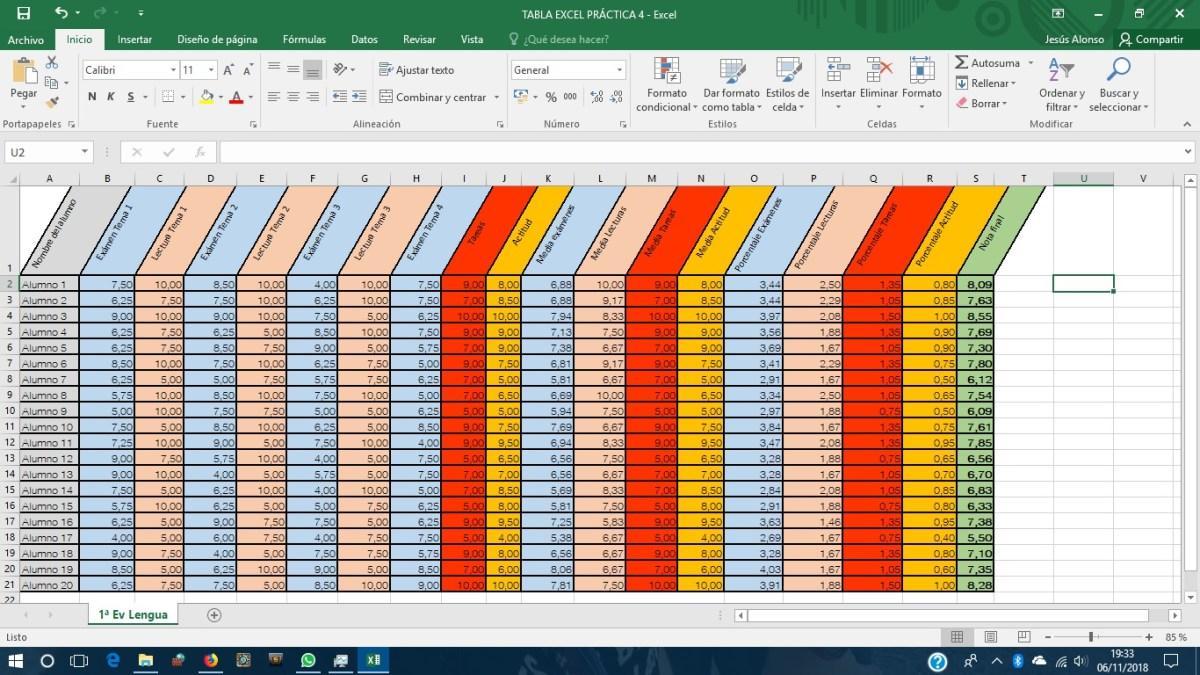 Excel Todas las funciones y fórmulas indispensables para maestros ...
