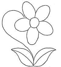 Flores Para Colorear Animadas Dibujos De Flores Animadas Para