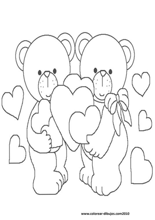 Dibujo De Osos Enamorados