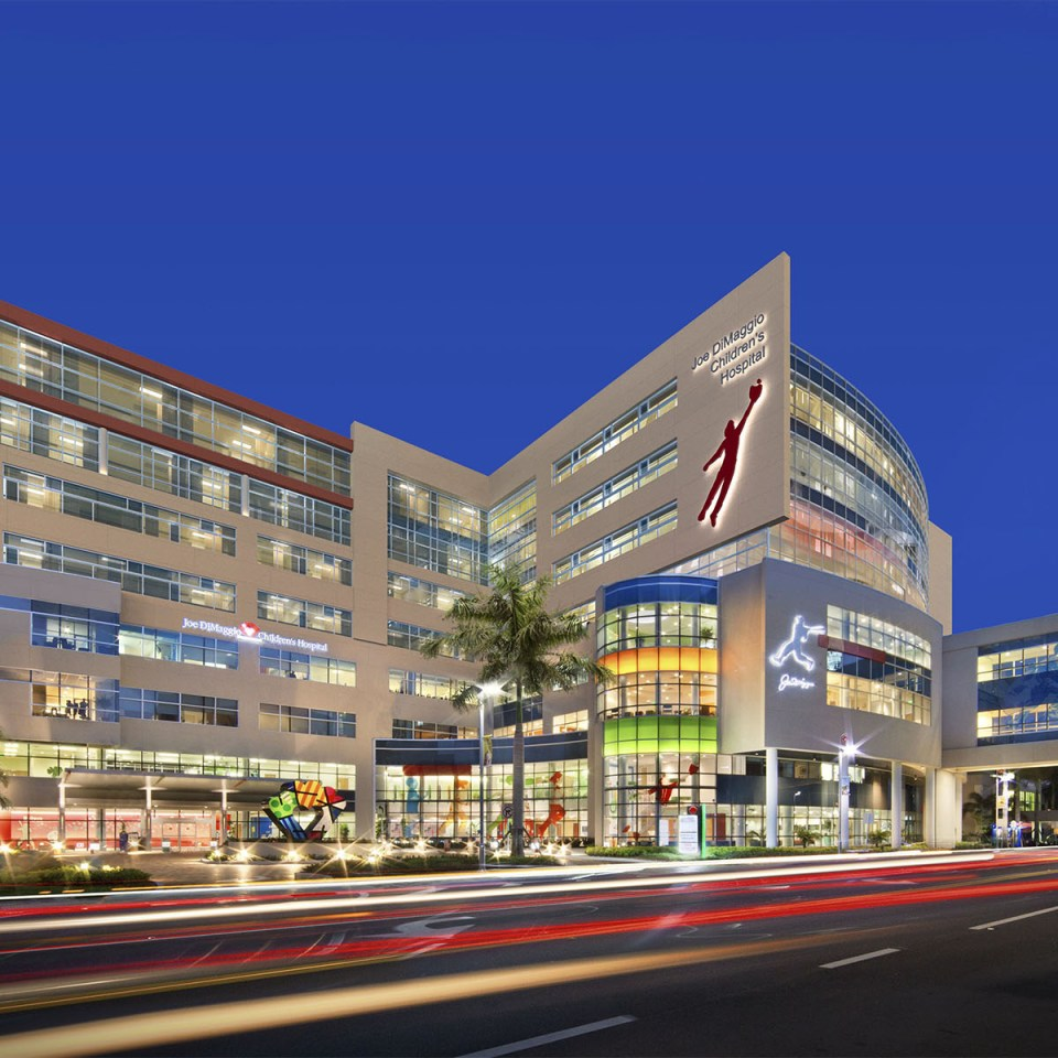 Joe DiMaggio Children's Hospital – Hollywood, FL