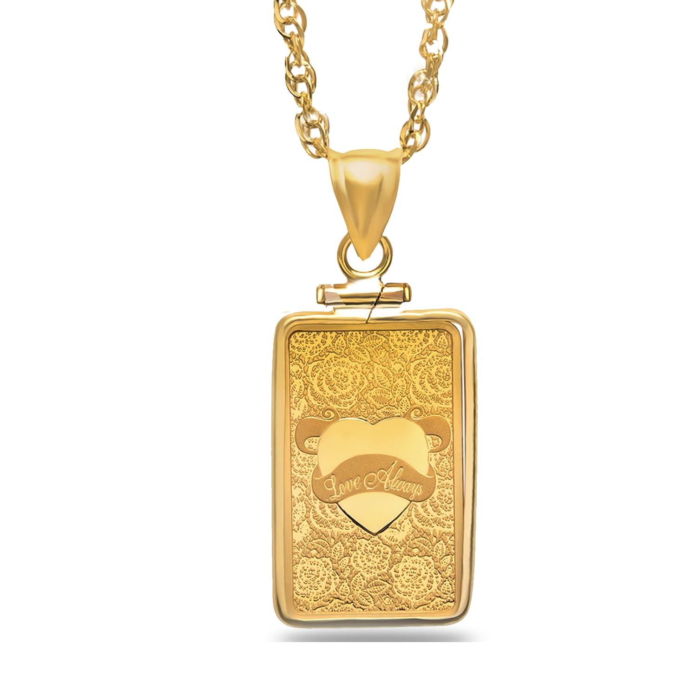 5 gram Gold Pendant