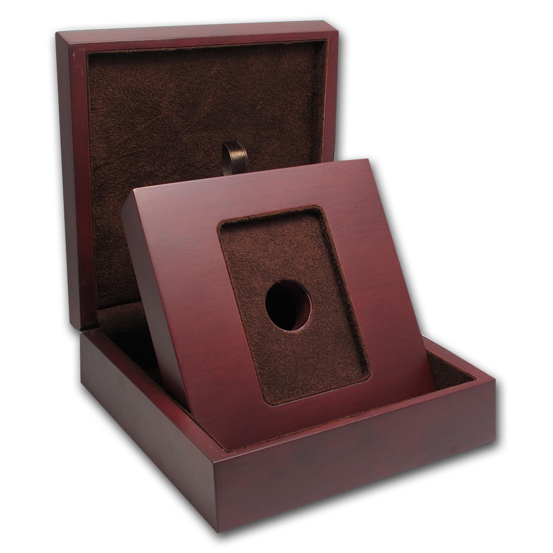 APMEX Wood Gift Box APMEX Gold Bars Standard