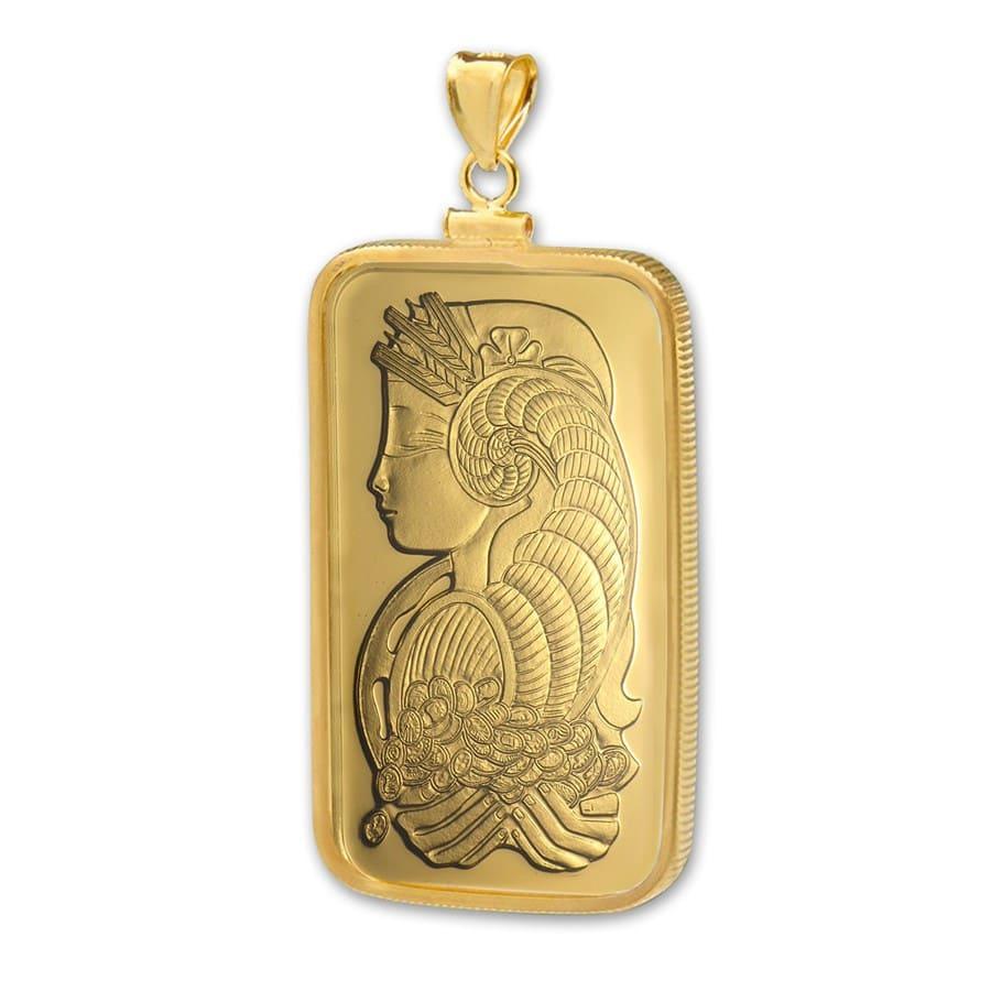 1 oz Gold Pendant