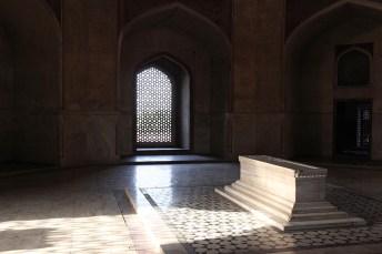 Intérieur du tombeau d'Humâyûn - Delhi, Inde 2012