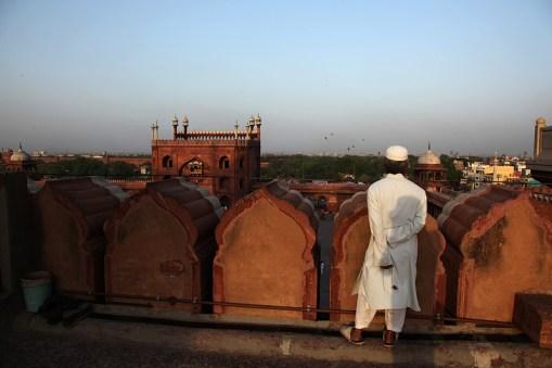 La mosquée Jama Masjid - Delhi, Inde 2012