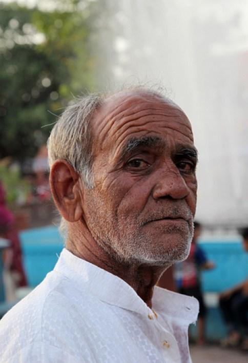 Portrait dans les rues de Jaipur - Inde 2012