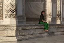 Le Taj Mahal, portrait