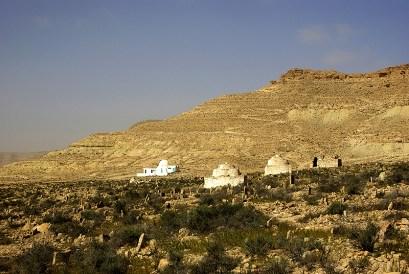 Le cimetière de Douiret - Tunisie 2009