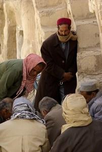 Une partie de kharbaga dans les rues de Tataouine - Tunisie 2009