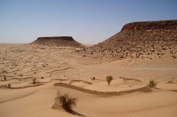 Les montagnes tabulaires de Tembain - Tunisie 2009