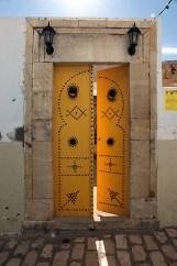 Porte traditionnelle dans la Medina de Sousse - Tunisie 2012