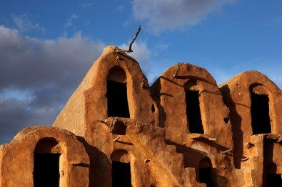 Détail des greniers de Ksar Ouled Soltane – Tunisie 2012