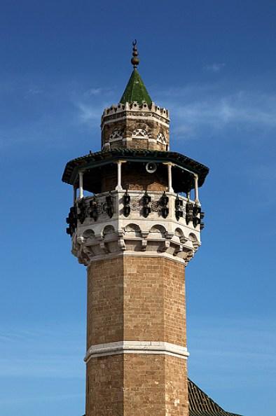 Le minaret de la mosquée Youssef Dey, Tunis - Tunisie 2012