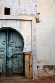 Porte ancienne dans la médina, Kairouan - Tunisie 2012