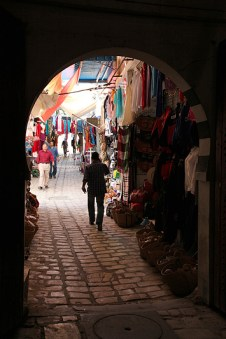 Ruelle de la médina de Sousse - Tunisie 2012