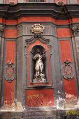 Statue, chiesa di san Angelo, Nilo, Naples, Italie - 2013