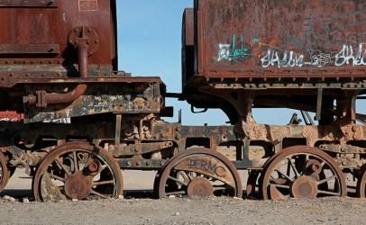 """""""El cementario de tren"""", Uyuni, Bolivie - 2014 - photo 10"""