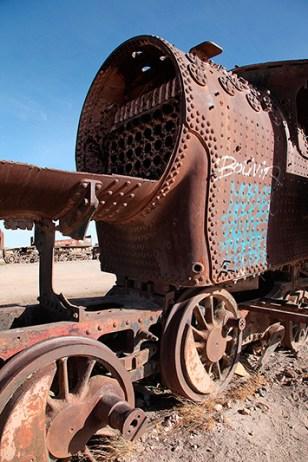 """""""El cementario de tren"""", Uyuni, Bolivie - 2014 - photo 06"""