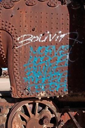 """""""El cementario de tren"""", Uyuni, Bolivie - 2014 - photo 07"""