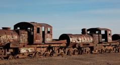 """""""El cementario de tren"""", Uyuni, Bolivie - 2014 - photo 17"""