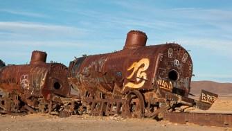 """""""El cementario de tren"""", Uyuni, Bolivie - 2014 - photo 20"""