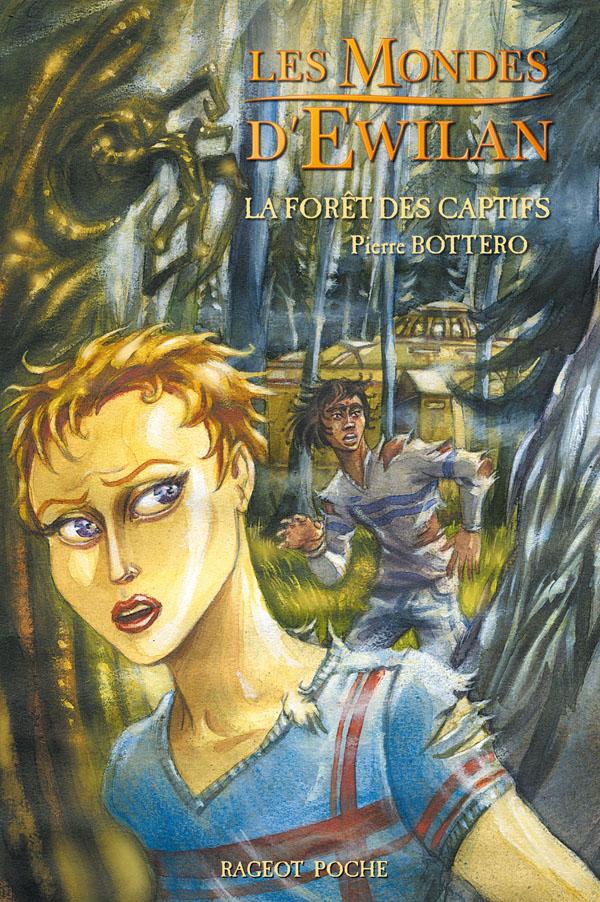 Couverture - La forêt des captifs