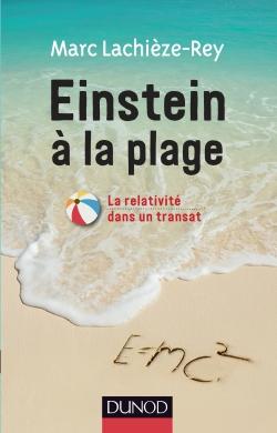 Einstein à la plage de Marc Lachièze-Rey. Crédit : Dunod