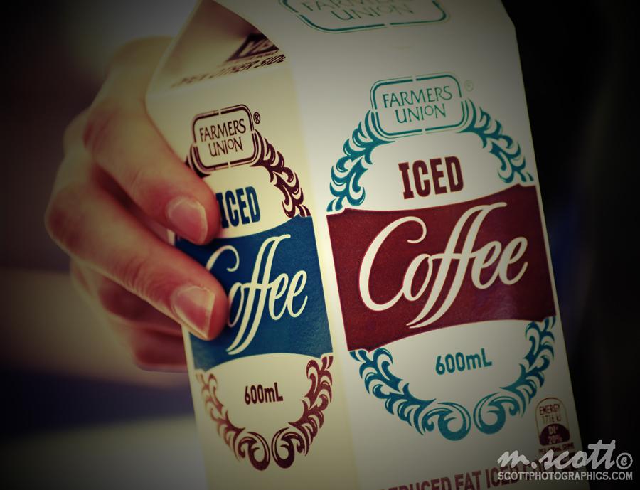 Farmer's Union Ice Coffee - Lomo Effect