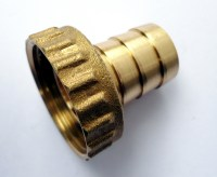"BRASS HOSE TAIL, barbed fish end for 1/2"" GARDEN BIB TAP ..."