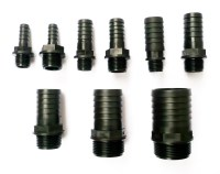 Hose Tail Connector Barbed TO Male BSP Thread Pond Pool ...