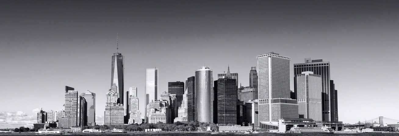 New york, nyc, skyline
