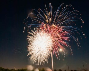 Fireworks, Whippany, New Jersey, July 4