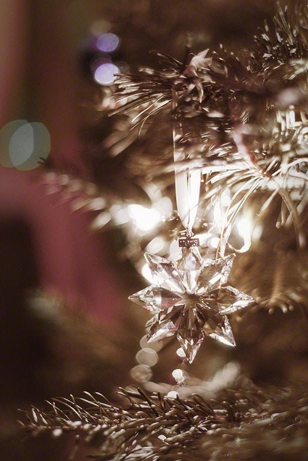 Glass ornaments / vintage