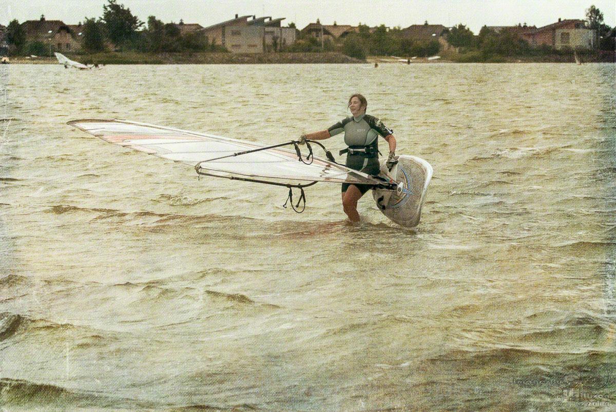 windsurfing, claudia, makkum