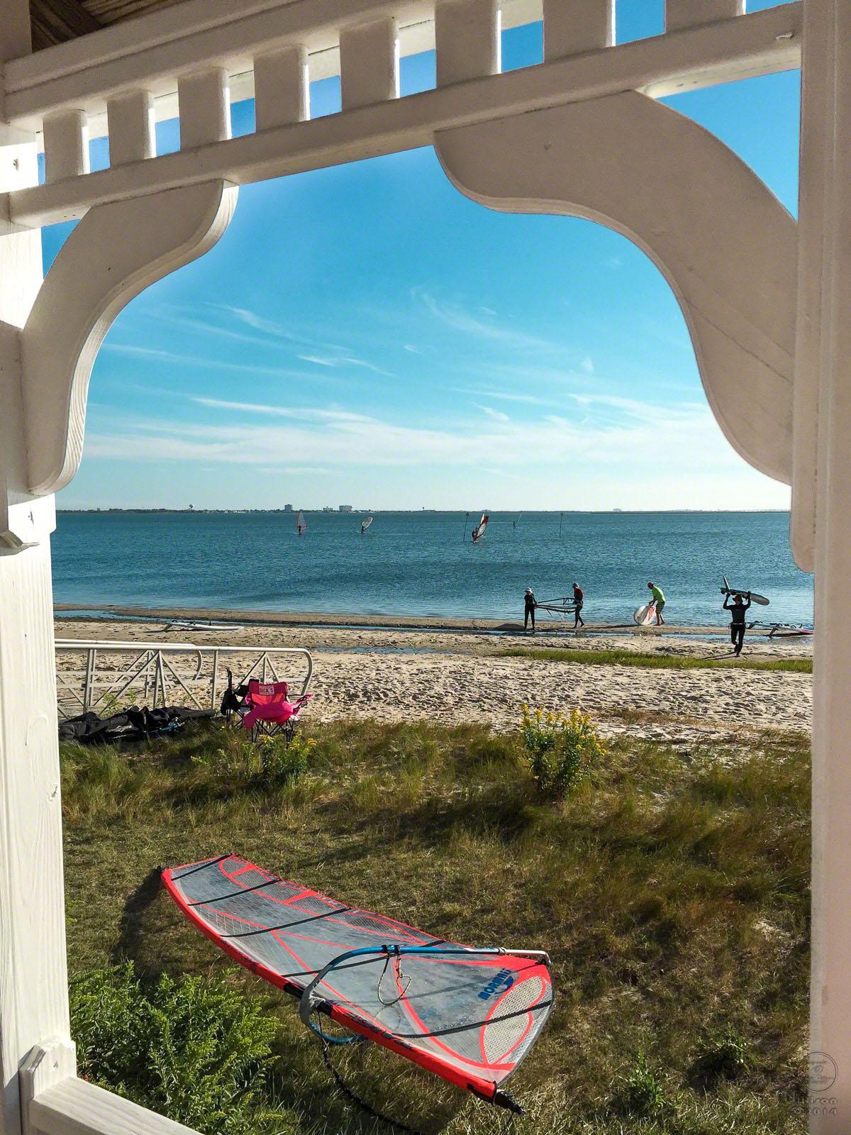 lakes bay, windsurfing, atlantic city, new jersey, ABK
