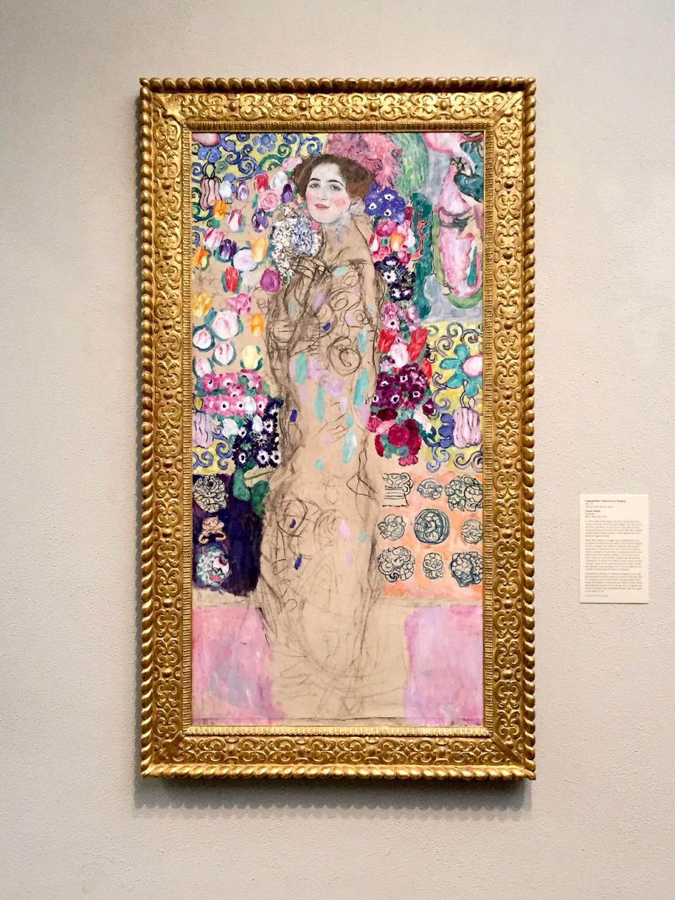 Philadelphia, modern, art, painting, Klimt