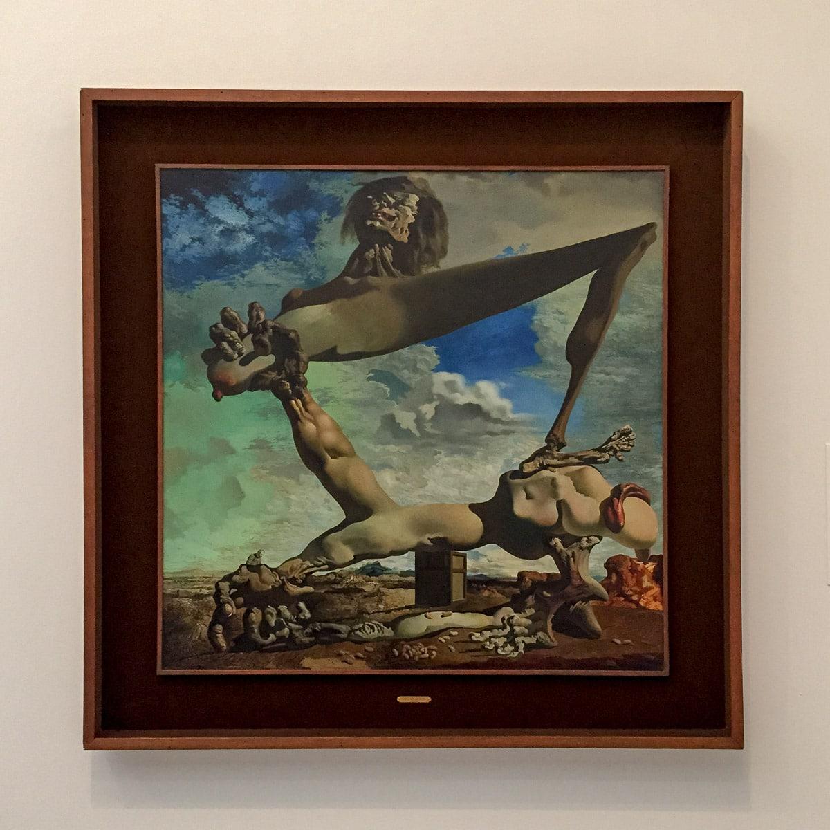 Philadelphia, modern, art, painting, dali