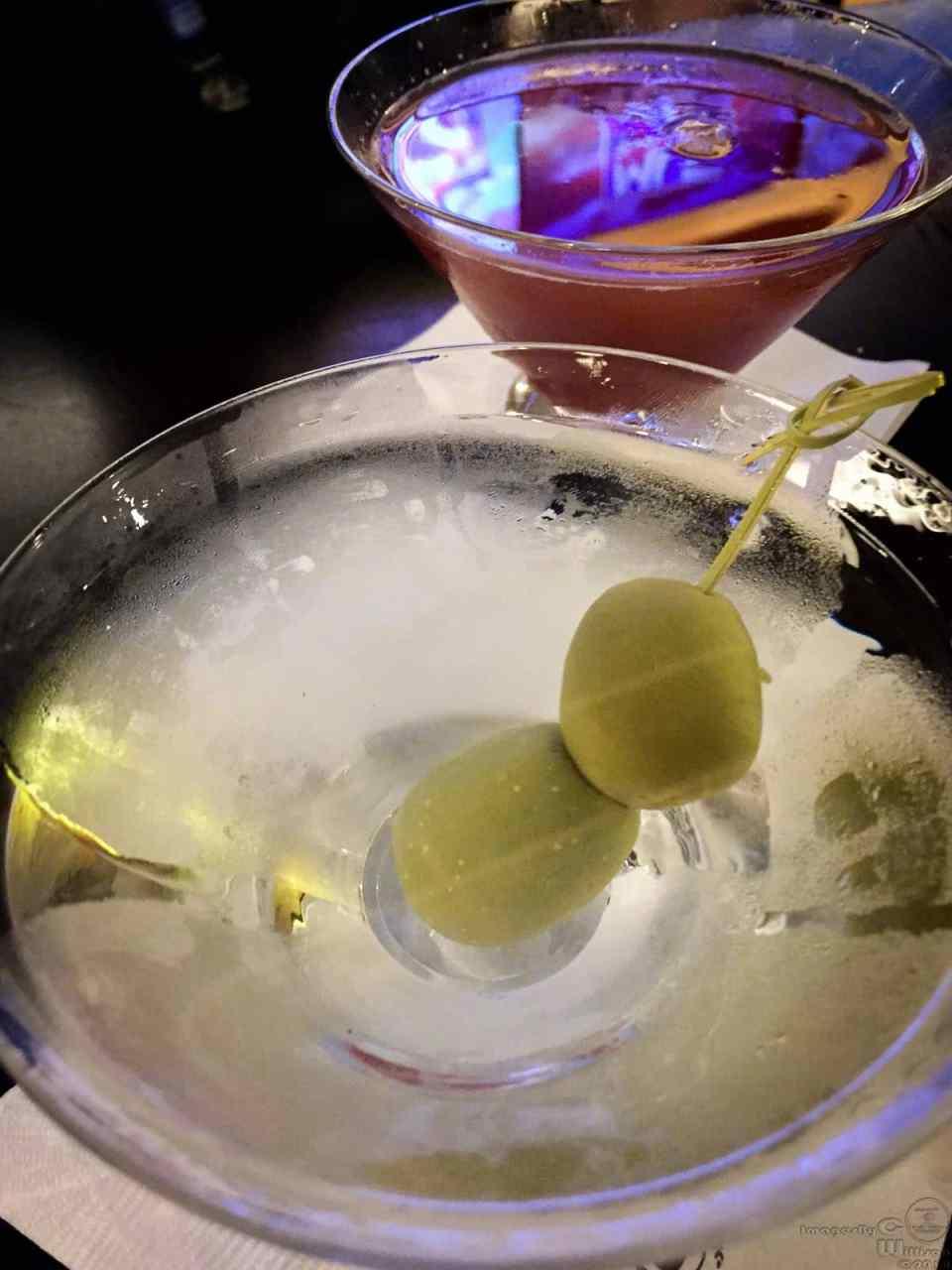iphone, martini, vodka, olives