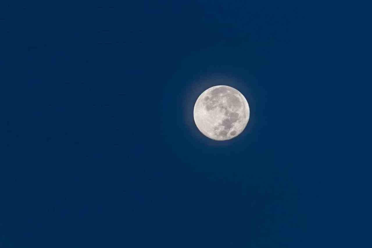 moon, full, obx, morning