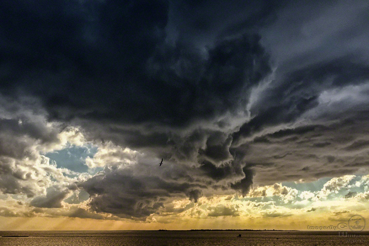 storm, clouds